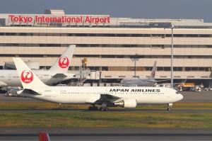 JAL,羽田空港